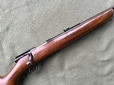 """WINCHESTER 43, 218 BEE CAL., 24"""" BARREL, DRILLED & TAPPED FOR SCOPE, HAS SWIVEL STUDS, 99% BLUE - 8 of 10"""