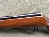 """SAVAGE ANSCHUTZ 164 M SPORTER, 22 MAGNUM CAL. 24"""" BARREL, GROOVED RECEIVER FOR.SCOPE, MONTE CARLO WALNUT STOCK WITH A FEW HANDLING MARKS, 99% B - 8 of 9"""