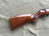 """SAVAGE ANSCHUTZ 164 M SPORTER, 22 MAGNUM CAL. 24"""" BARREL, GROOVED RECEIVER FOR.SCOPE, MONTE CARLO WALNUT STOCK WITH A FEW HANDLING MARKS, 99% B - 6 of 9"""