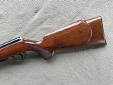 """SAVAGE ANSCHUTZ 164 M SPORTER, 22 MAGNUM CAL. 24"""" BARREL, GROOVED RECEIVER FOR.SCOPE, MONTE CARLO WALNUT STOCK WITH A FEW HANDLING MARKS, 99% B - 3 of 9"""