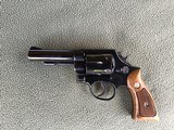 "SMITH & WESSON 58, 41 MAGNUM, 4"" BLUE, APPEARS UNFIRED NEW COND., NO BOX"
