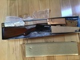 "BROWNING BELGIUM A-5, SWEET-16, 26"" IMPROVED CYLINDER, VENT RIB, MFG. 1955, NEW UNFIRED 100% COND. IN BLUE BOX - 1 of 5"