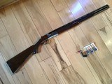 "RUGER RED LABEL, 28 GA. 26"" BARREL, OUT STANDING WOOD, WITH LOTS OF FIGURE & BURL, APPEARS UNFIRED, 100% COND."