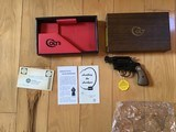 COLT COBRA 38 SPC., MFG. 1967, NEW UNFIRED, UNTURNED, 100% COND. IN FACTORY GREASE