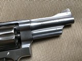 """SMITH & WESSON 625, 45 ACP. ( MOUNTAIN GUN ) 4"""" STAINLESS, IN BOX WITH OWNERS MANUAL, ETC. EXC. COND. - 4 of 6"""