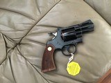 """COLT PYTHON 357 MAGNUM, 2 1/2"""" BLUE, MFG. 1977, NEW UNFIRED NO TURN RING 100% COND. IN BOX - 3 of 4"""
