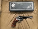 "SMITH & WESSON 357 MAGNUM, MODEL 19-3, 6"" BLUE, 99+% COND. IN ORIGINAL BOX"