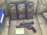 "COLT ANACONDA 44 MAGNUM, 8"" BARREL, REAL TREE EDITION, NEW UNFIRED 100% COND. IN BOX"