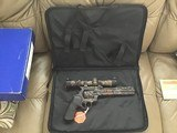 """COLT ANACONDA 44 MAGNUM, 8"""" BARREL, REAL TREE EDITION, NEW UNFIRED 100% COND. IN BOX - 4 of 6"""