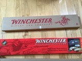 WINCHESTER 9422, 22 LR. HIGH GRADE, TRIBUTE TRADITIONAL, ENGRAVED RECEIVER WITH GOLD HORSE RIDER, NEW UNFIRED 100 % COND. IN BOX WITH RED SLEEVE. - 8 of 8