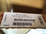 WINCHESTER 9422, 22 LR. HIGH GRADE, TRIBUTE TRADITIONAL, ENGRAVED RECEIVER WITH GOLD HORSE RIDER, NEW UNFIRED 100 % COND. IN BOX WITH RED SLEEVE. - 6 of 8