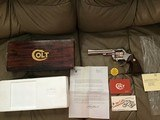 "COLT TROOPER 22 MAGNUM, 6"" BRIGHT NICKEL, NEW UNFIRED, NO TURN RING, IN THE BOX"