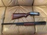 "WINCHESTER M-12, 12 GA. 3"" MAGNUM HEAVY DUCK, 30"" SOLID RIB, PRE WAR, MFG. 1937 VERY HIGH COND. ESTATE GUN - 1 of 4"