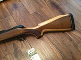 REMINGTON 600 350 MAGNUM NEW UNFIRED, 100% COND. IN DUPONT BOX WITH OWNERS MANUAL HANG TAG, ETC. - 3 of 6
