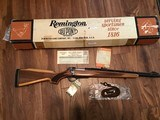 REMINGTON 600 350 MAGNUM NEW UNFIRED, 100% COND. IN DUPONT BOX WITH OWNERS MANUAL HANG TAG, ETC.