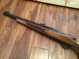 REMINGTON 600 350 MAGNUM NEW UNFIRED, 100% COND. IN DUPONT BOX WITH OWNERS MANUAL HANG TAG, ETC. - 4 of 6