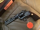 "COLT BOA 357 MAGNUM, 6"" SERIAL NUMBER 258 OF A TOTAL 1,200 MFG. NEW UNFIRED IN BOX - 3 of 4"