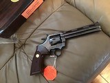 "COLT BOA 357 MAGNUM, 6"" SERIAL NUMBER 258 OF A TOTAL 1,200 MFG. NEW UNFIRED IN BOX - 2 of 4"