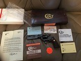 "COLT BOA 357 MAGNUM, 6"" SERIAL NUMBER 258 OF A TOTAL 1,200 MFG. NEW UNFIRED IN BOX - 1 of 4"