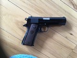 COLT COMMANDER 38 SUPER CAL. MFG. 1952, COMES WITH OWNERS MANUAL & BOX - 2 of 3