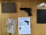 COLT COMMANDER 38 SUPER CAL. MFG. 1952, COMES WITH OWNERS MANUAL & BOX