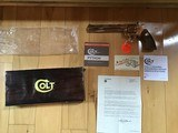 "COLT PYTHON 357 MAGNUM, RARE 8"" BRIGHT NICKEL, MFG. 1981, NEW UNFIRED, UNTURNED, 100% COND. IN THE BOX"