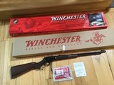 "WINCHESTER 9422 TRIBUTE SPECIAL, LEGACY, 22 MAGNUM, 22"" BARREL, HAS HORSE RIDER ON RECEIVER, NEW UNFIRED, 100% COND. IN THE BOX - 1 of 11"