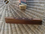 REMINGTON 1100, 20 GA. STANDARD FOREARM, NEW NEVER BEEN ON A GUN, 100% COND. IN REMINGTON DUPONT BOX - 2 of 4
