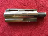 "colt python barrel, 4"" nickel, 2 pin front site, used"