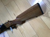 RUGER #1, TROPICAL 375 H&H CAL. APPEARS UNFIRED, LIGHT COLORED WALNUT WOOD, 100% COND. - 2 of 7