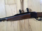 RUGER #1 TROPICAL, 416 REMINGTON CAL., WALNUT WOOD, APPEARS UNFIRED, COMES WITH ORIGINAL RUGER RINGS, 100% COND. - 2 of 7
