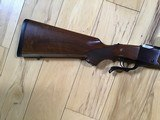 RUGER #1 TROPICAL, 416 REMINGTON CAL., WALNUT WOOD, APPEARS UNFIRED, COMES WITH ORIGINAL RUGER RINGS, 100% COND. - 7 of 7