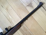 RUGER #1 TROPICAL, 416 REMINGTON CAL., WALNUT WOOD, APPEARS UNFIRED, COMES WITH ORIGINAL RUGER RINGS, 100% COND. - 6 of 7