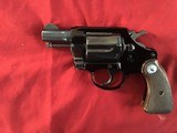 "COLT COBRA 38 SPC. 2"" BLUE, COMES WITH OWNERS MANUAL, ETC. IN BOX - 3 of 9"