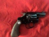 "COLT COBRA 38 SPC. 2"" BLUE, COMES WITH OWNERS MANUAL, ETC. IN BOX - 4 of 9"