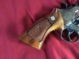 """SMITH & WESSON 29-2, 44 MAGNUM, 8 3/8"""" NICKEL, COMES WITH TOOLS, OWNERS MANUAL, ETC. IN SMITH & WESSON PRESENTATION WOOD CASE - 5 of 9"""