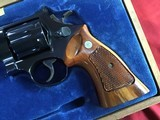 """SMITH & WESSON 27-2, 357 MAGNUM, 8 3/8"""" BLUE, NEW UNFIRED IN S&W, WOOD PRESENTATION CASE, COMES WITH TOOLS, OWNERS MANUAL, ETC. - 5 of 9"""