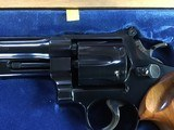 """SMITH & WESSON 27-2, 357 MAGNUM, 8 3/8"""" BLUE, NEW UNFIRED IN S&W, WOOD PRESENTATION CASE, COMES WITH TOOLS, OWNERS MANUAL, ETC. - 8 of 9"""