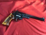 """SMITH & WESSON 27-2, 357 MAGNUM, 8 3/8"""" BLUE, NEW UNFIRED IN S&W, WOOD PRESENTATION CASE, COMES WITH TOOLS, OWNERS MANUAL, ETC. - 2 of 9"""