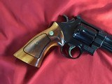 """SMITH & WESSON 27-2, 357 MAGNUM, 8 3/8"""" BLUE, NEW UNFIRED IN S&W, WOOD PRESENTATION CASE, COMES WITH TOOLS, OWNERS MANUAL, ETC. - 6 of 9"""