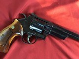 """SMITH & WESSON 27-2, 357 MAGNUM, 8 3/8"""" BLUE, NEW UNFIRED IN S&W, WOOD PRESENTATION CASE, COMES WITH TOOLS, OWNERS MANUAL, ETC. - 3 of 9"""