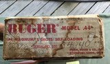 RUGER 44 AUTO, 44 MAGNUM CARBINE, NEW UNFIRED IN BOX WITH OWNERS MANUAL, ETC. IN THE BO - 8 of 8