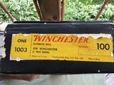 """WINCHESTER 100, 308 CAL. 22"""" BARREL, NEW UNFIRED IN BOX - 8 of 8"""