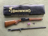 """BROWNING A-5, SWEET-16 JAP, 28"""" INVECTOR WITH 3 CHOKE TUBES, NEW UNFIRED, 100% COND. IN THE BOX - 1 of 9"""