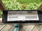 """BROWNING A-5, SWEET-16 JAP, 28"""" INVECTOR WITH 3 CHOKE TUBES, NEW UNFIRED, 100% COND. IN THE BOX - 9 of 9"""