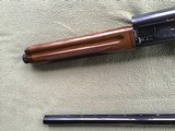 """BROWNING A-5, SWEET-16 JAP, 28"""" INVECTOR WITH 3 CHOKE TUBES, NEW UNFIRED, 100% COND. IN THE BOX - 6 of 9"""