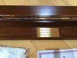 "U.S. HISTORICAL FOUNDATION "" ROBERT E. LEE"" STAFF AND FIELD OFFICERS CAMPAIGN SABER, #7 OF 2,500 MFG. - 3 of 11"