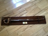 "U.S. HISTORICAL FOUNDATION "" ROBERT E. LEE"" STAFF AND FIELD OFFICERS CAMPAIGN SABER, #7 OF 2,500 MFG. - 10 of 11"