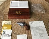 "COLT DETECTIVE SPECIAL 38 SPC., 2"" ELECTROLESS NICKEL, MFG. IN COLT CUSTOM SHOP, IN THE COLT CUSTOM SHOP BOX"