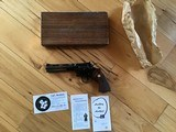 "COLT PYTHON 357 MAGNUM 6"" BLUE, MFG. 1960, EXCELLENT COND. IN THE BOX WITH OWNERS MANUAL ETC. - 1 of 5"